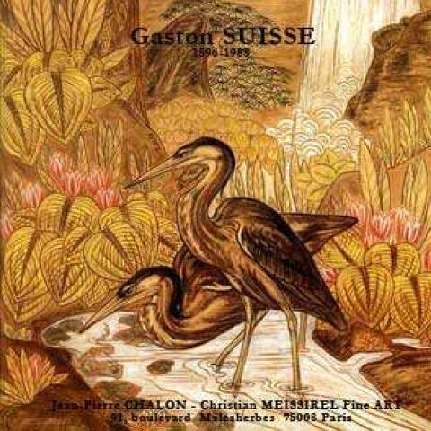 Catalogue de l'exposition Gaston Suisse.